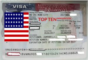 Bảo lãnh định cư Mỹ: làm gì sau khi được cấp visa hôn phu hôn thê K-1?