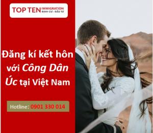 Dang ki ket hon voi cong dan Uc tai Viet Nam